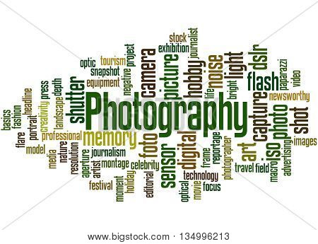 Photography, Word Cloud Concept