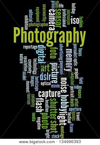 Photography, Word Cloud Concept 4