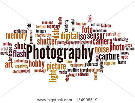 Photography, Word Cloud Concept 8