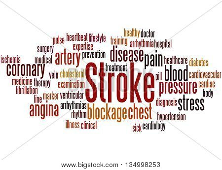 Stroke, Word Cloud Concept 5