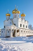 foto of romanov  - Christianity church in Russia Kostroma city Ipatievsky monastery Cradle of the house of Romanovs - JPG