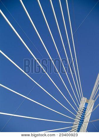 Detail of the drawbridge