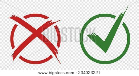 Acceptance And Rejection Symbol Vector