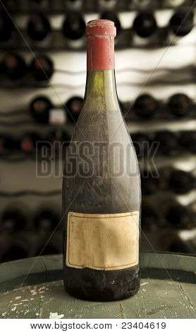 Vintage antique wine