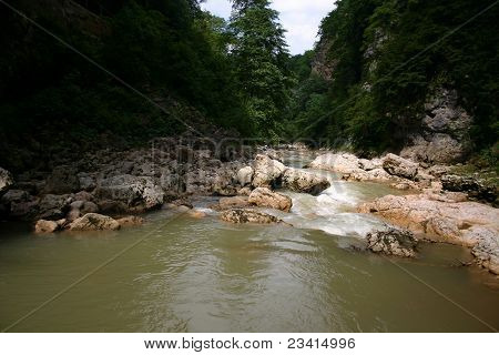 The Silent Mountain River