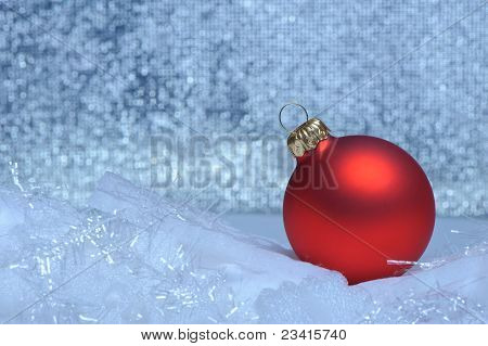 Christmas Red Sphere