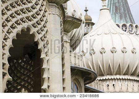 Brighton Pavillons reich verzierten Kuppel-Dach