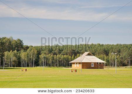 City Pak Landscape In Drushkininkai, Lithvania #1