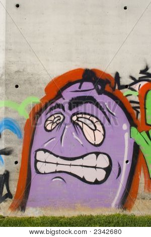 Graffiti Funny Face