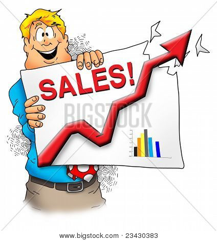 Sales Are Great!