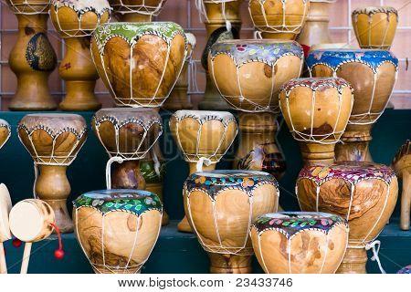 Wooden Bongos