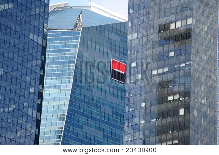 Groupe Societe Generale brand On Headquarters Building