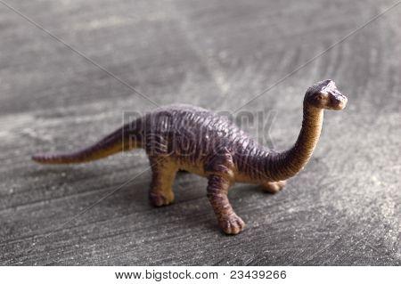 Dinosaur on Chalkboard