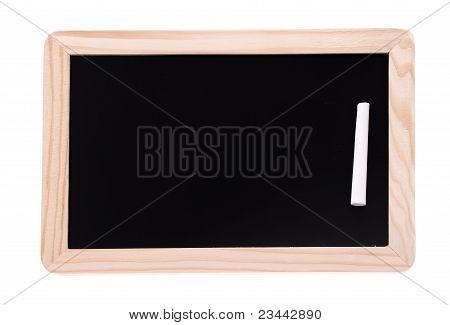 Child's Mini Chalkboard With A Chalk