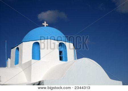 Traditional Cycladic Church - Paros