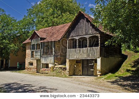 Traditional Historic Wooden Houses - Wine Cellar
