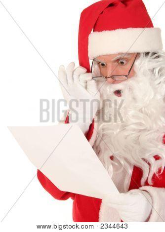 Santa Claus-lesen-schreiben