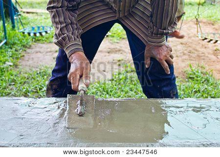 Screed Coat Cement