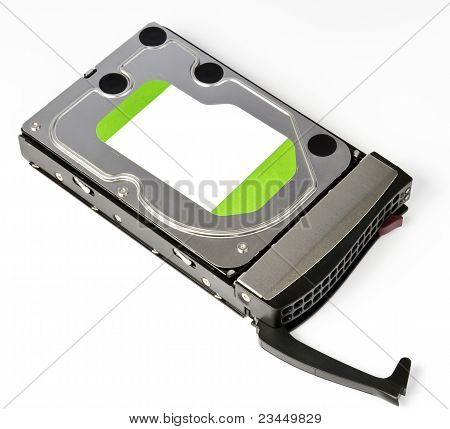Server Hard Disk Drive In Hot Swap Frame
