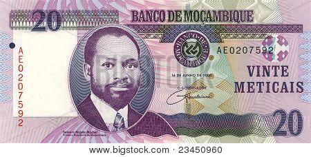 20 Meticais Of Mozambique