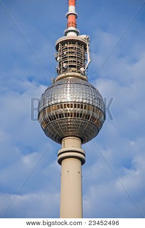 Detail of Berlin´s Television tower