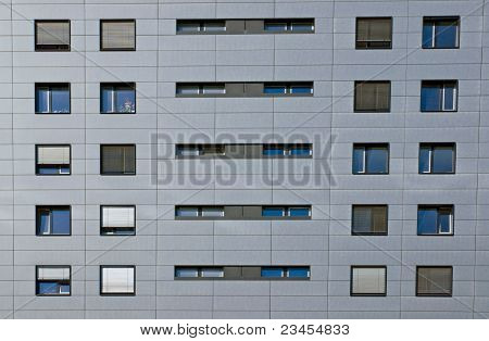 Detail of an office building