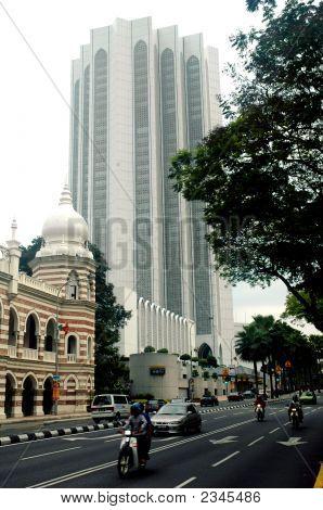 Muslim Building In Kuala Lumpur Malaysia