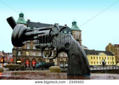 The Non Violence Gun Malmo