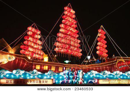 Lightup Of Lantern Ship