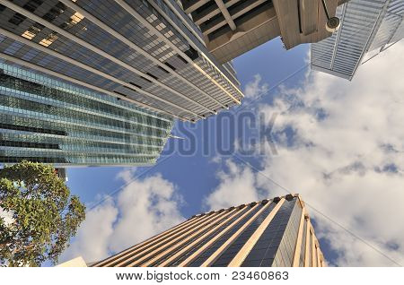 Towering Skyscrapers