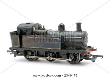 Toy Model Steam Shunter Engine