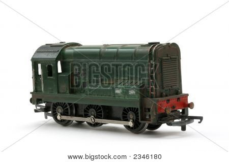 Toy Model Diesel Shunter Engine
