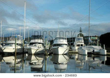 Boats At Harbour