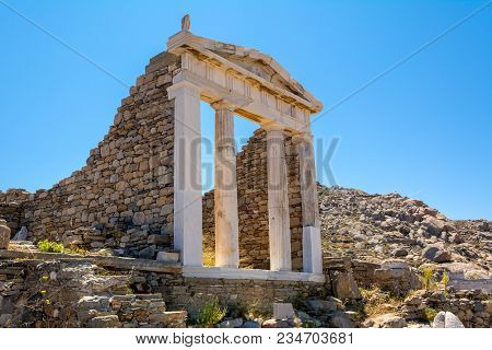 The Temple Of Isis In