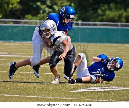 Little League Football, Tackling