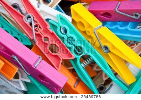Pegs For Hanging Clothes