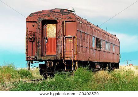 Old Passenger Railcar