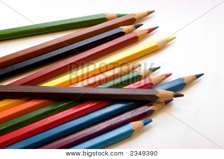 Pencils Of Different Colors