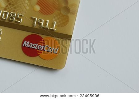 Yellow Master Card