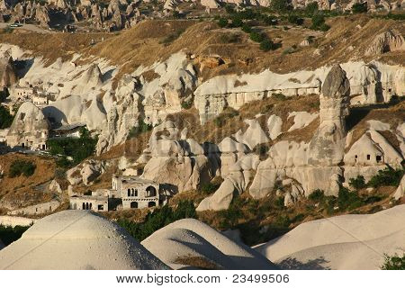 Aerial View of Goreme