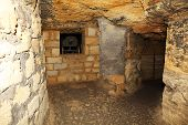 stock photo of catacombs  - Old Catacombs Odessa Ukraine  - JPG