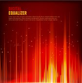 Vector Image Of Multi Color Audio Waveform Technology Background Digital Equalizer Technology Abstra poster