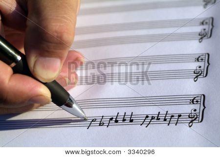 Música de escritura creativa