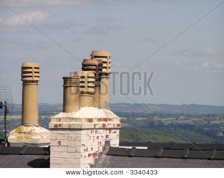 Five Chimney Pots