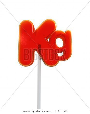 Kilo Symbol Lollipop