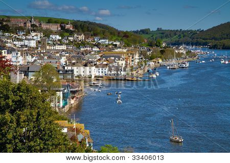 Dartmouth and the River Dart in Devon