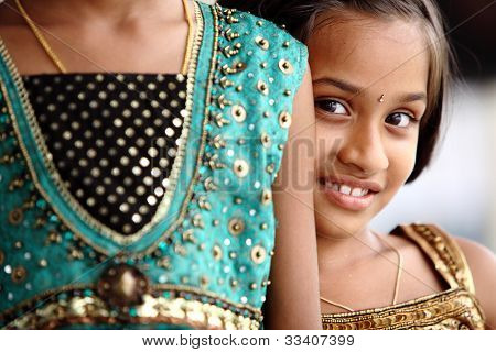 Beautiful Indian little girl