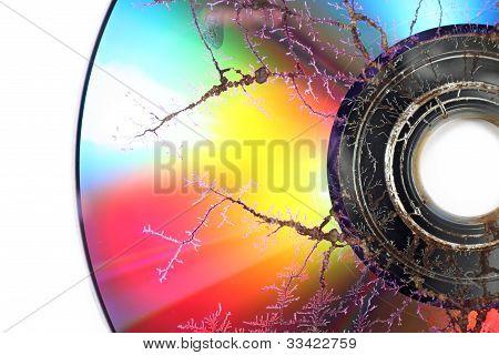 Damaged Optical Disk