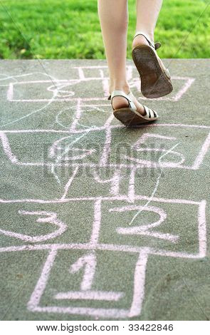 Hopscotch fun