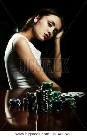 Girl In Casino